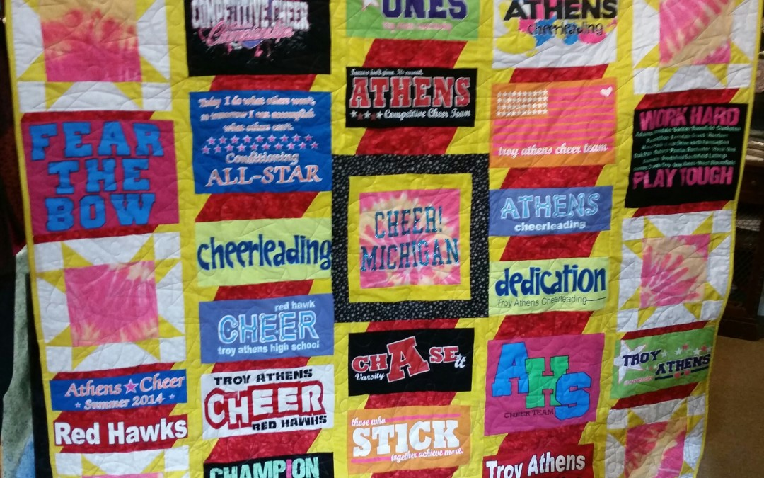 Custom T-Shirt Quilts