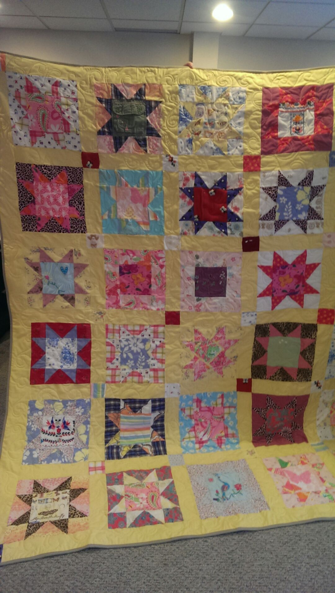 memory quilt front porch quilts